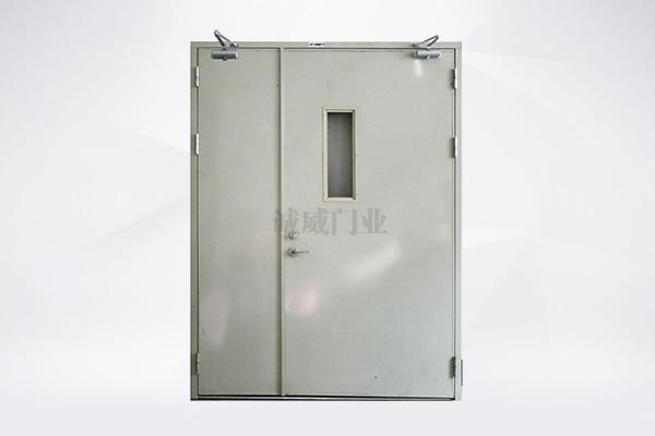 钢质防火门(单开带玻璃视口)